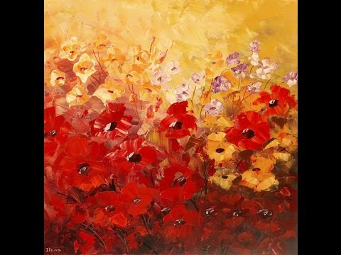 How To Make Flower Painting