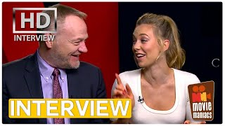 The Crown - Vanessa Kirby & Jared Harris | exclusive Interview Netflix