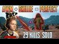 AWM + GHILLIE = PERFECT   Jeemzz 29 kills solo FPP MIRAMAR   PUBG HIGHLIGHTS TOP 1 #149