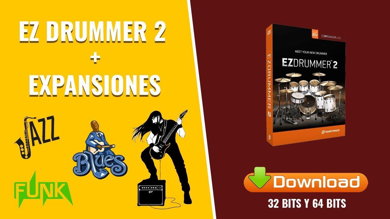 Ez Drummer 2 - En Español + Expansiones (23 gb) - 2018