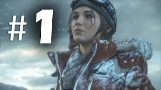 Rise of the Tomb Raider Part 1 - Obsession - Gameplay Walkthrough (2015)
