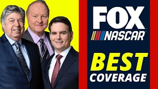 Why FOX Sports has the BEST NASCAR Coverage