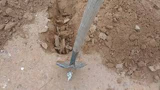 How to dig a ditch as taught by an oldman