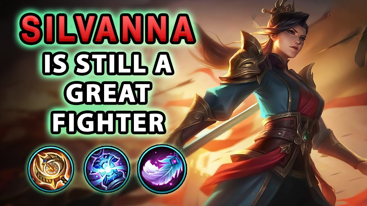 Everybody uses Silvanna as Tank, But She is still Great as Fighter | Mobile Legends