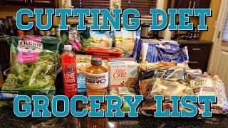 Summer Shredding Diet Grocery List