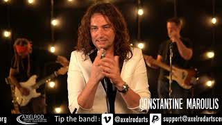 Constantine Maroulis performs for the Sheldon and Anne Vogel Concert Series, 2020.