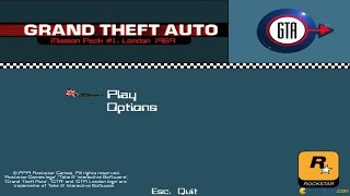 Grand Theft Auto: London 1969 gameplay (PC Game, 1999)