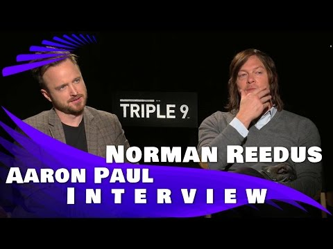 Triple 9: Aaron Paul and Norman Reedus