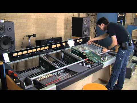 Assembling A Wheatstone TV 600 Mixer