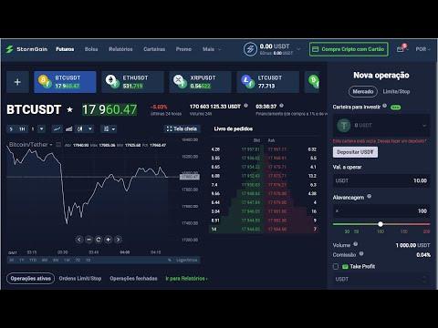 [ StormGain ] Ganhe Bitcoin FREE | Saque minimo $10 | Investimentos e Trading | Home Office