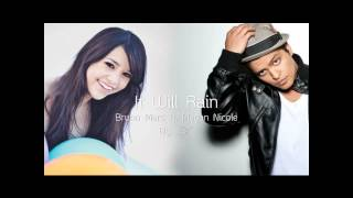 Repeat youtube video It Will Rain - Bruno Mars  ft. Megan Nicole