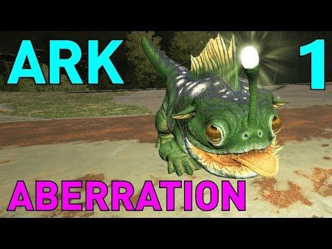 [1] Taming Bulbdogs! SO CUTE! (ARK Aberration Survival Multiplayer)