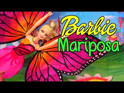 Barbie Mariposa and the Fairy Princess Toys and Dolls Unboxing, Review -  Stories With Toys & Dolls