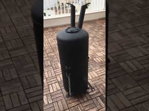Diy outdoor smoker stove malta
