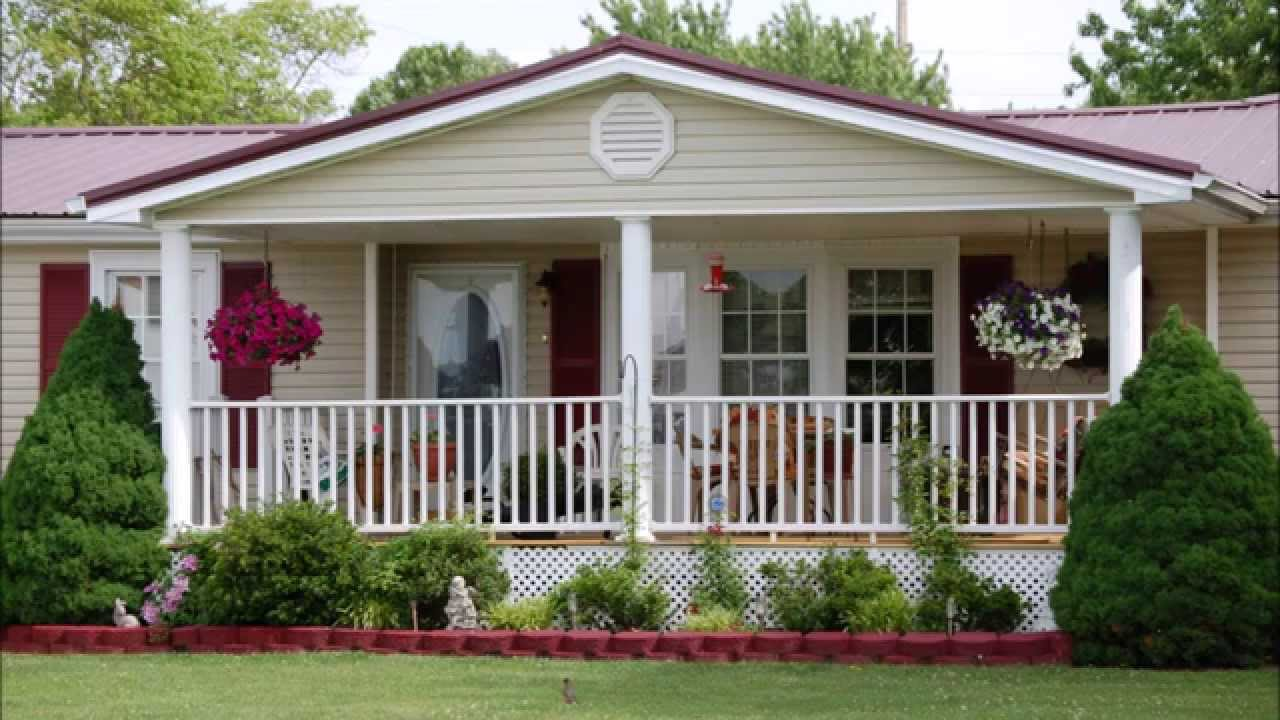 Mobile Home Front Porches