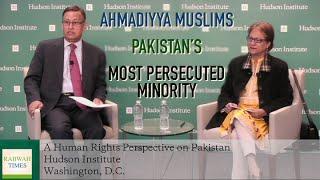 Asma Jahangir: Ahmadiyya Muslims the most persecuted minority in Pakistan