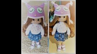 Kукла вязаная крючком часть 1 Crochet Doll