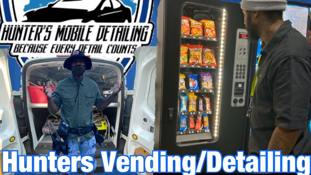 SLOW VENDING MACHINE LOCATION & NEW MOBILE DETAILING BUSINESS SETUP