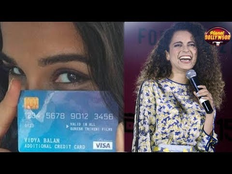 Thumbnail: Vidya Balan Takes A Dig At Kangana Ranaut & Why? | Bollywood News