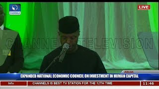 Osinbajo On Innovations Boosting Education,Health,Youth Development,Welcomes Partnerships Pt.3