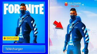 "REVEDE YOUR ""EXCLUSIVE SKIN"" FOR ALL ON YOUR COMPTE ""FREE"" ON FORTNITE!"