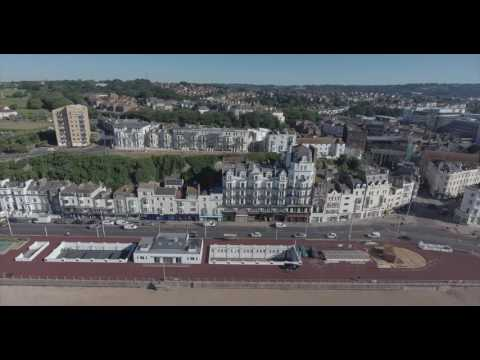 Hastings, East Sussex  From the Air