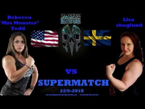 Sweden Monster Cup 2018 - Lisa Skoglund vs Rebecca