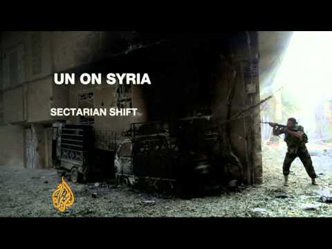 UN says Syria conflict is 'overtly sectarian'