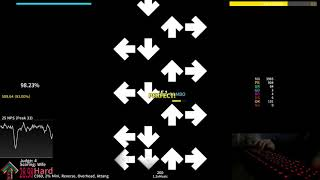 StepMania: Once In A Lifetime 1.3x - 97.73% AA live play