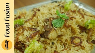 Mutton Yakhni Pulao Recipe By Food Fusion (Eid Recipe)