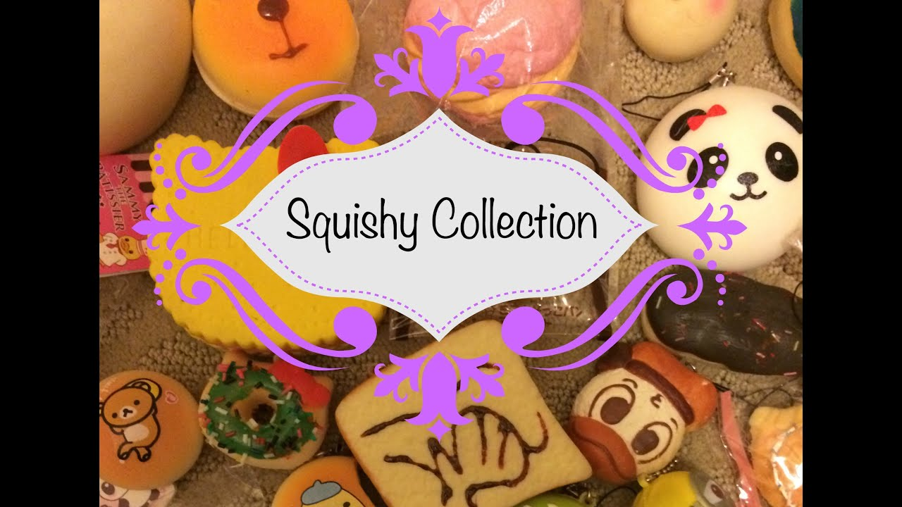 My Squishy Collection 2015 : Squishy Collection! II 2015 - YouTube