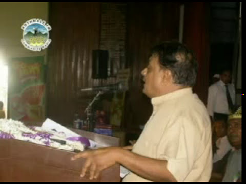Sri Lanka Broadcasting Corporation (SLBC) Chairman Mr. Hudson Samarasinghe's speech