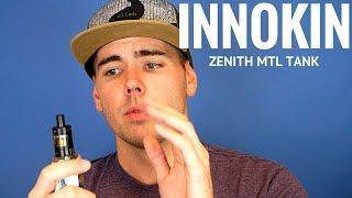 Innokin Zenith MTL Tank [+ Mr Salt E Blue Razz]
