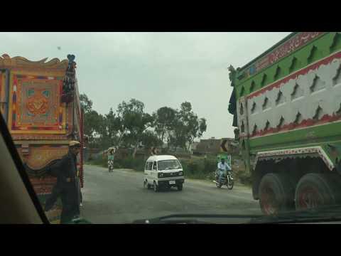 A Drive Through of village Aliot to Kahuta city 2017