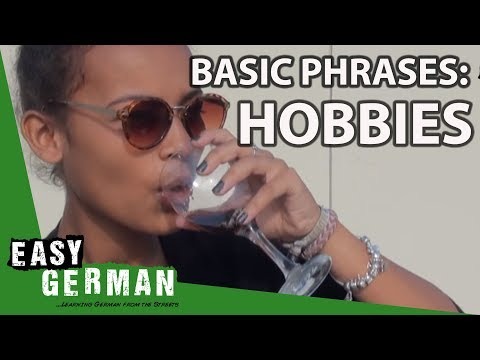 Easy German Basic Phrases - Hobbies