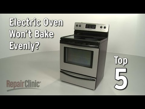 "Thumbnail for video ""Top 5 Reasons Electric Oven Won't Bake Evenly?"""