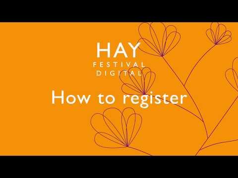 How to register for Hay Festival Digital 2020