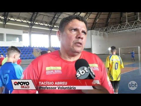 O Povo na TV: Alunos de projeto esportivo se preparam para campeonato em Goiás