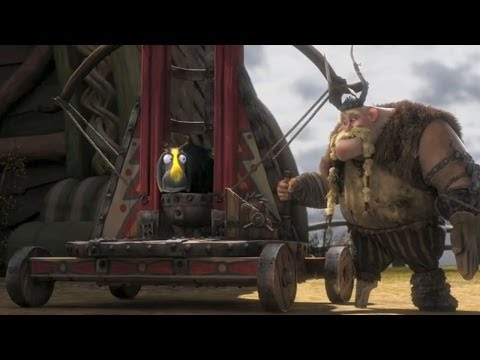Sheeps And Dragons How To Train Your Dragon Movie Clip