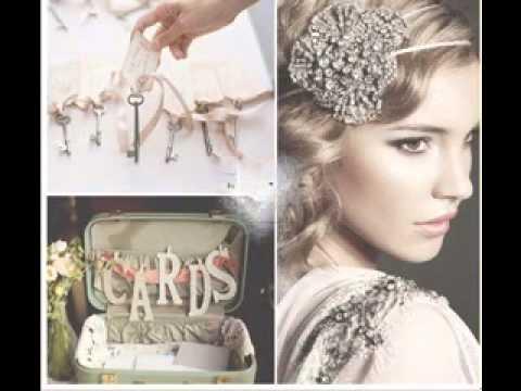 DIY Vintage wedding theme decorating ideas