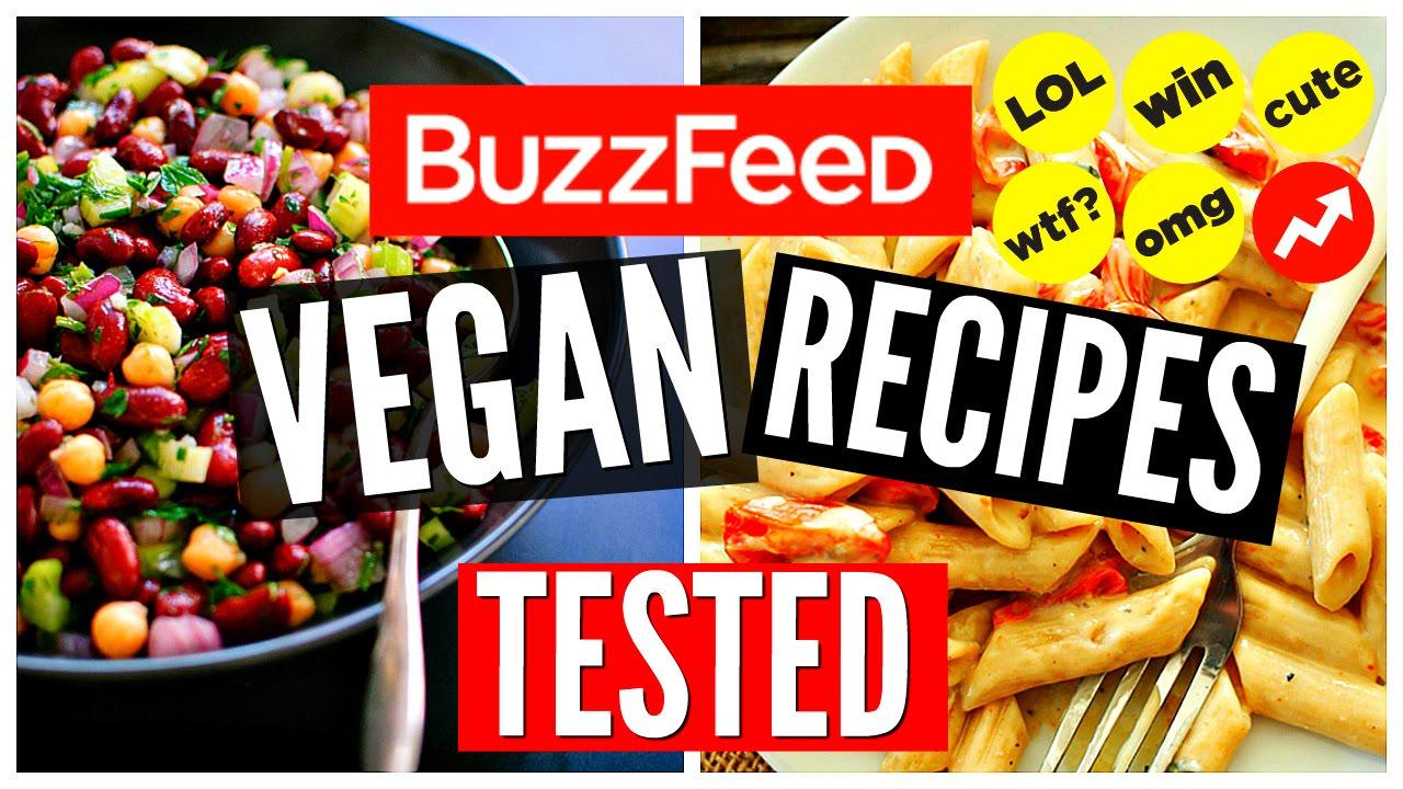 Buzzfeed vegan recipes tested healthy vegan dinner ideas youtube forumfinder Gallery