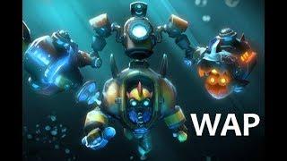Tinker (Submerged Hazard Set with Mecha Boots of Travel Mk III) Dota2 Gameplay - August 6, 2017