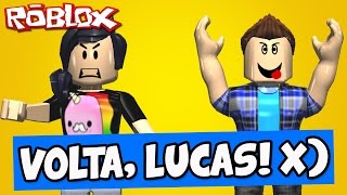 LUCAS, VOLTA PRA ACADEMIA! - Roblox (Escape The Gym)