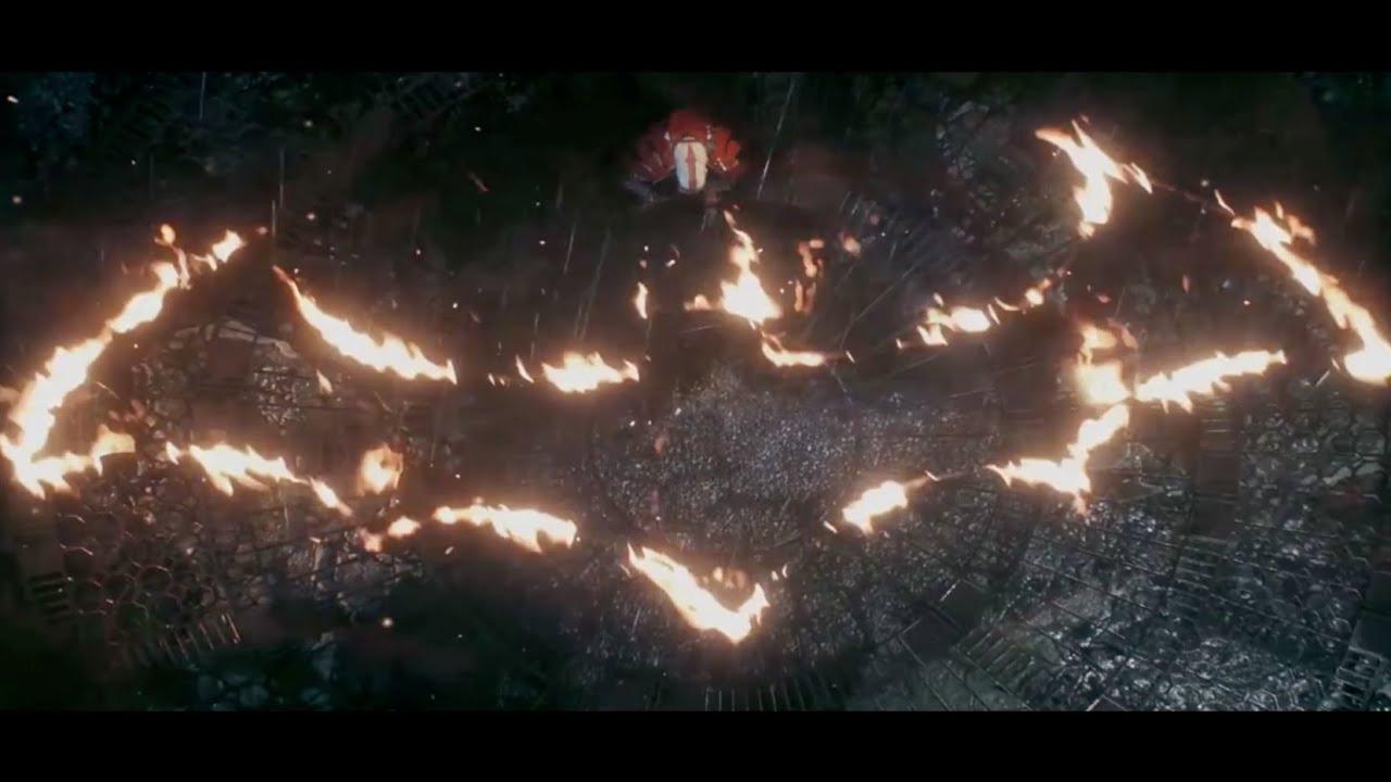 Dark Knight Rises Fire Symbol