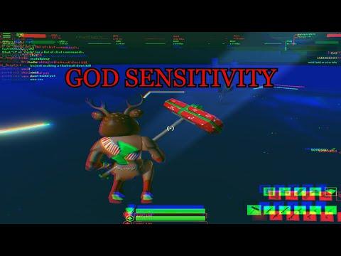 Stucid Sensitivity to make u play like a GOD!