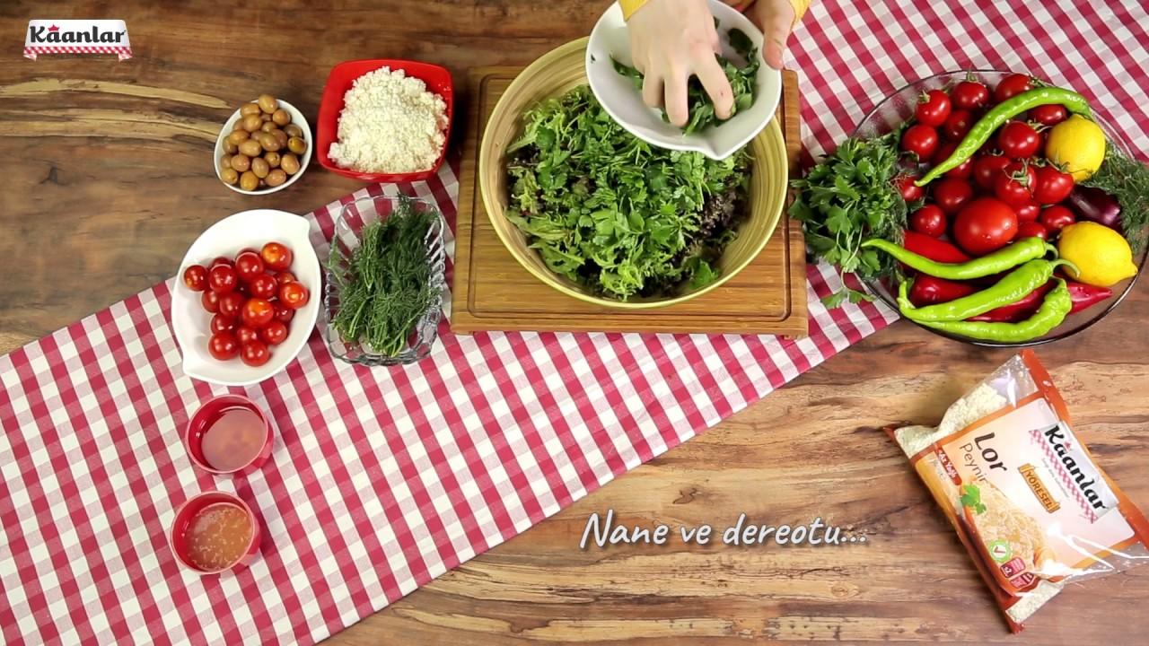 Çıtır Kasede Lor Salatası Tarifi