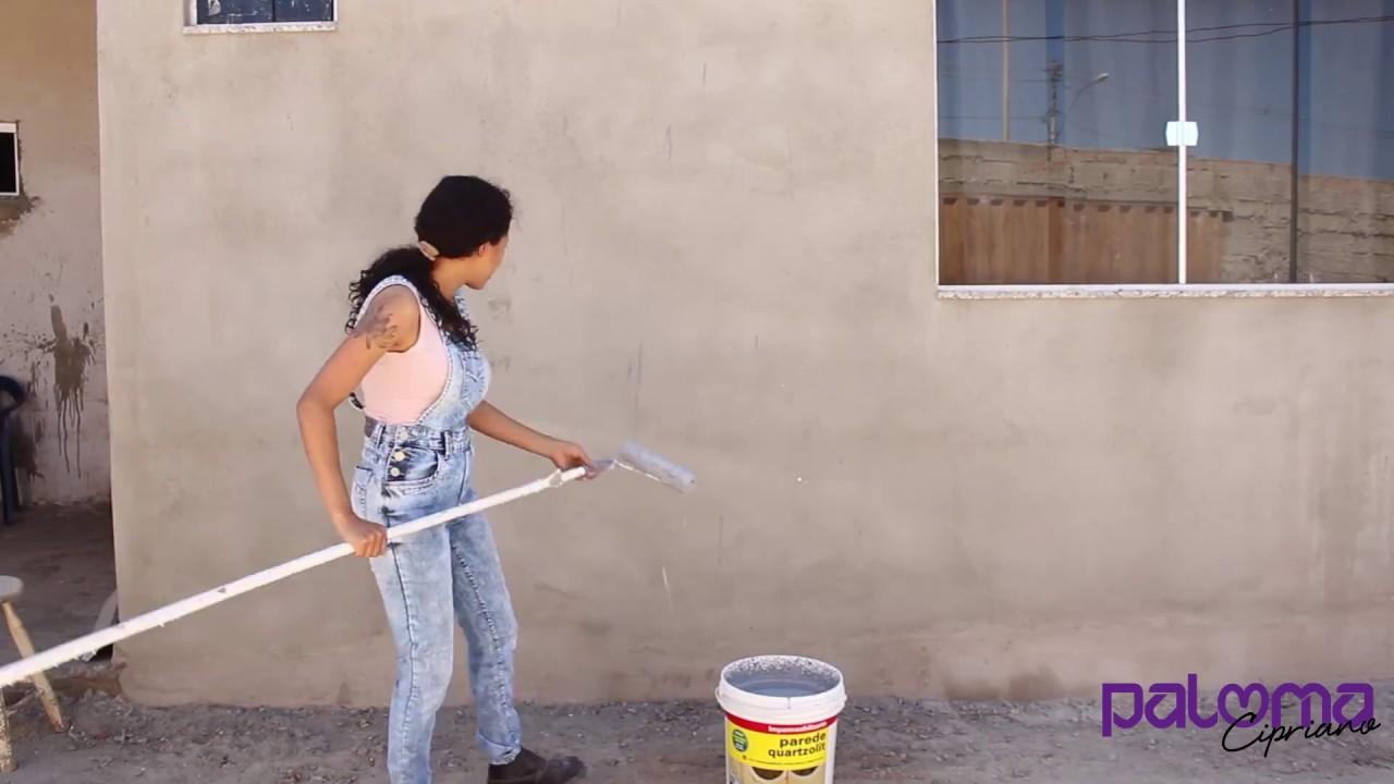 Como impermeabilizar sua parede com paloma cipriano - Impermeabilizante para paredes ...