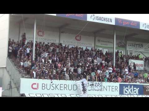 Buskerud-derby 2017 Mjøndalen - G*dset 01.06.2017