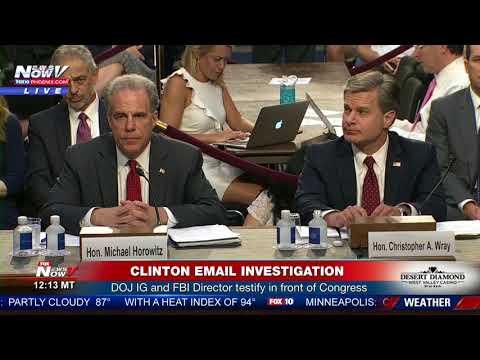 CLINTON EMAIL INVESTIGATION: Full Senate Hearing On DOJ IG Report