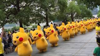 踊る?ピカチュウ大行進|ピカチュウ大量発生チュウ(みなとみらい, 2015)